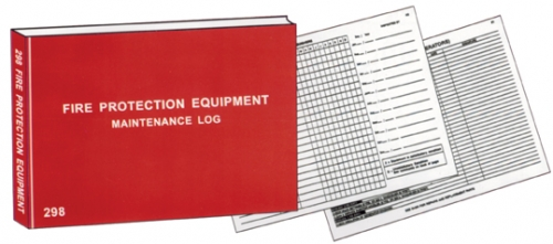English – Fire Protection Equipment Log