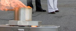 Portable Fire Extinguisher Training education in Vancouver BC